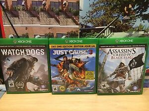 Xbox One games for sale. Cambridge Kitchener Area image 1