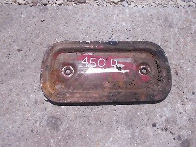 Farmall 450 400 Diesel D Tractor Ih Ihc Engine Motor Block Side Cover Panel
