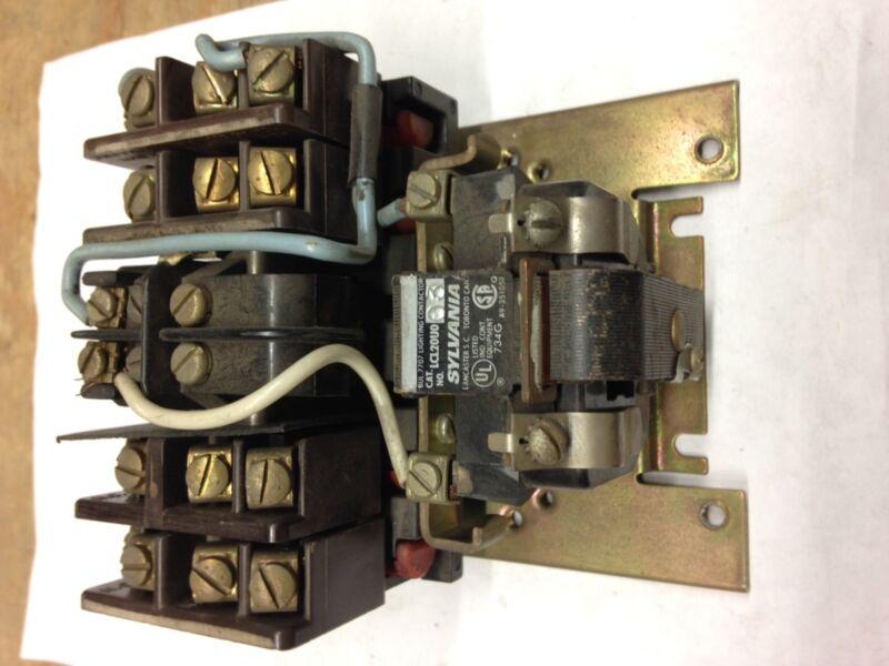 LCL20U003 Sylvania Lighting Contactor 24VAC Coil