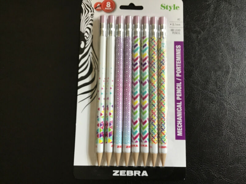 Style Mechanical Pencils 8 Pack