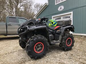 2017 can am outlander xmr 1000 1UP (only one in canada)