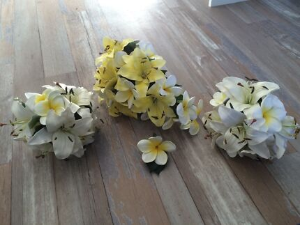 Latex Flower Bridal wedding bouquet. Perfect condition!