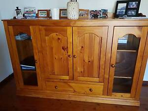 Buffet style cupboard - used to hold a tv. Pickup only Oatley Hurstville Area Preview