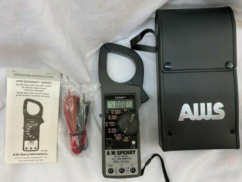 AW Sperry DSA-2003 AC/DC Digital Volt-Ohm Ammeter w/CASE