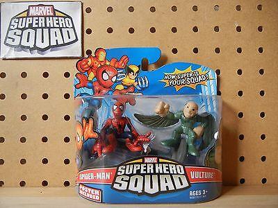 Marvel Super Hero Squad SEALED Wave 15: SPIDER-MAN Hanging Lamppost & VULTURE