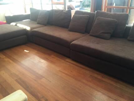 Comfortable Modular Sofa for sale Mosman Park Cottesloe Area Preview