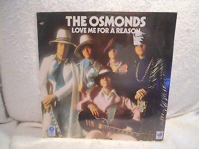 THE OSMONDS ~LOVE ME FOR A REASON ~VINYL LP/SEALED ~1974/M3G-4939 (The Osmonds Love Me For A Reason)
