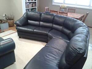leather couch for sale Armidale Armidale City Preview