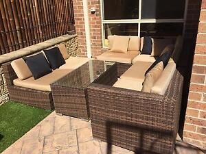 7 seater Wicker Lounge Set- pick up only Brighton East Bayside Area Preview