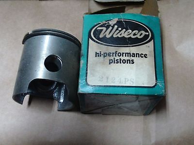 snowmobile nos Wiseco 2124 ps Piston and Rings vintage snowmobile
