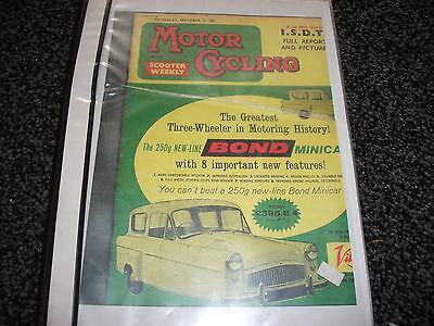 BOND MINICAR 250G - INSTRUCTION BOOK - C.1962 ±