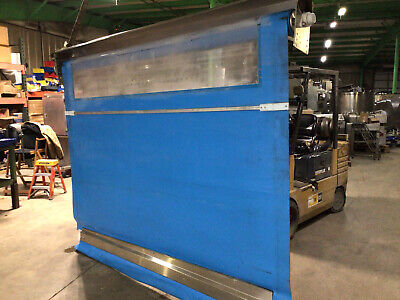 Rytec Clean Room Fabric Roll-up Overhead Door 8 X 10 Food Service