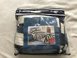 Charles Street twin quilt set