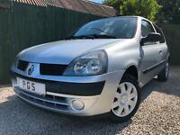 """2006/06 RENAULT CLIO 1.2 8V CAMPUS """"ONLY 37K"""" NOT A MISPRINT & 1 OWNER"""