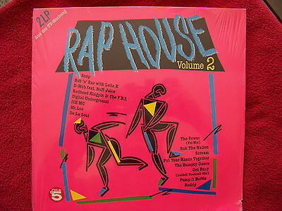 Rap House  Vol. 2   D-LP LP NEU OVP