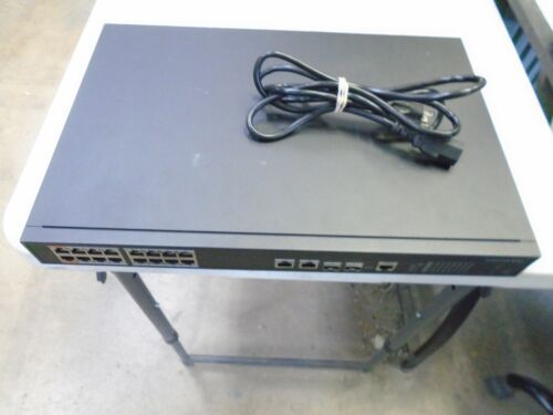 Q-See QAPE 1601 Power over Ethernet Switch 16+2 GIGA POE QAPE1601 for Ip Camera