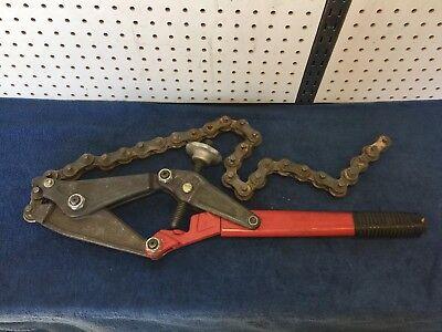Wheeler-rex Chain Pipe Cutter Usa Made