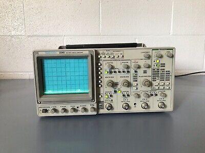 Tektronix 2246 100mhz4 Channel Oscilloscope Model 2246-1y Good Condition