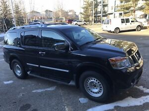 2012 NISSAN ARMADA PLATINUM, REDUCE PRICE$$ LOW KMS 122000
