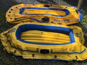 2 Inflatable boats (small leaks to be filled)