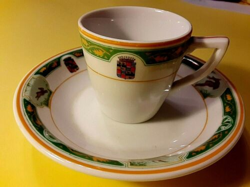 BOOK CADILLAC HOTEL CUP AND SAUCER, 1924, DETROIT, MI, OPENING YEAR!