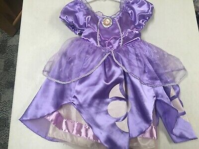 The First Halloween Costumes (DISNEY COLLECTION SOFIA THE FIRST PRINCESS DRESS UP HALLOWEEN COSTUME  SZ    2)