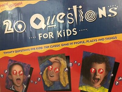 20 Questions Kids Board Game (20 Questions For Kids Board Game University Games 1989 - NEW FACTORY SEALED )