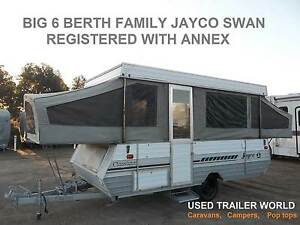 BIG REGISTERED 6 BERTH JAYCO SWAN FAMILY CAMPER TRAILER & ANNEX Heathcote Sutherland Area Preview
