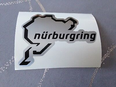 Pegatina Nürburgring Circuito Auto Moto Tuning Casco de Quad Bicicleta Tablero