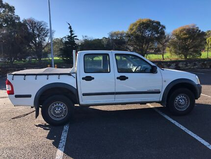2004 Holden Isuzu Rodeo Ute   3.0 Turbo Diesel Manual  $7000