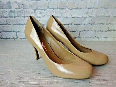 Jessica Simpson -  Nude Patent Heels - Size 5