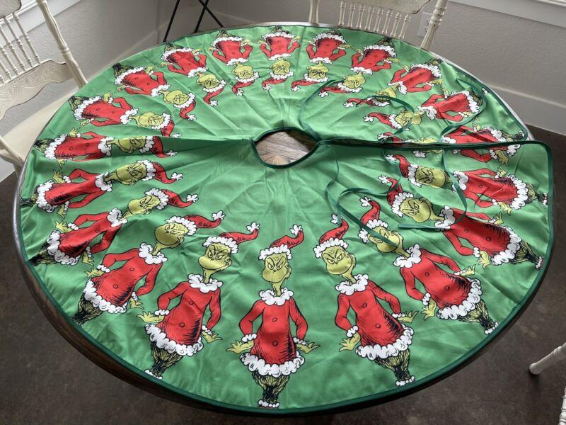 "The Grinch Christmas Tree Skirt 46"""