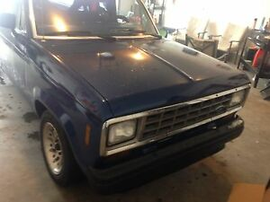 1986 Ford ranger with chev 350
