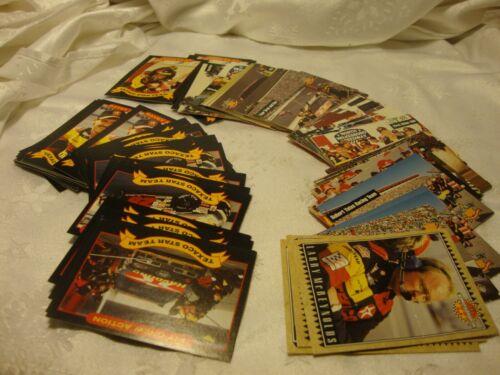 Large Lot (86) NASCAR Racing Cards 1990