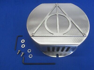 Heavy Duty 12 Ga. Steel Exciter Cover Wizard Hallow Fits Lincoln Sa 200