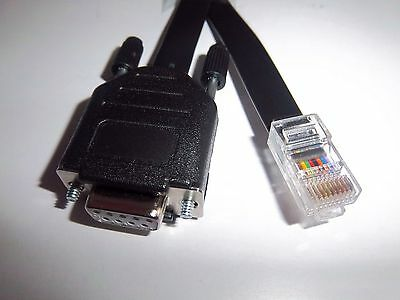 RS232 APC SMART UPS 9PIN TO RJ50 CABLE FOR SMT3000 MODEL