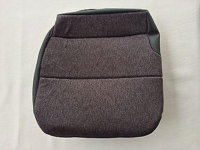 Isuzu Npr  Gmc W Series Driver Bottom Seat Upholstery Steel Gray   Mordura