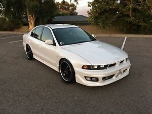 2001 Mitsubishi Galant VR-4 Type-V AWD Dernancourt Tea Tree Gully Area Preview