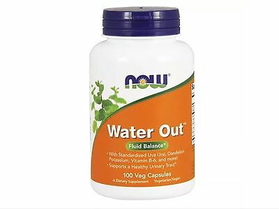 Water Out Herbal Diuretic 100 Vcaps By Now Foods Fast 1St Class Shipping