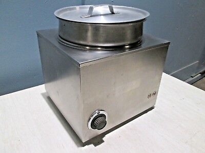Cecilware H.d. Commercial Counter-top S.s. 11qt Soupchilisauces Warmer