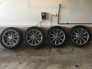 Lexus low profile tires