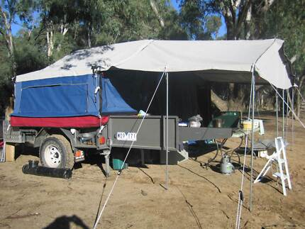 Market Direct C&ers & Hard floor Camping tent trailer for hire | Camper Trailers ...