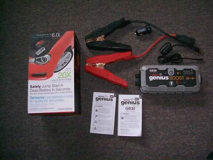 Noco Genius GB30 Boost 12V Lithium mini jump starter up to 6litre George Town George Town Area Preview