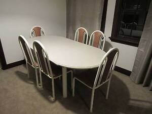 Extendable dinning table with 6 chairs as new Pennant Hills Hornsby Area Preview