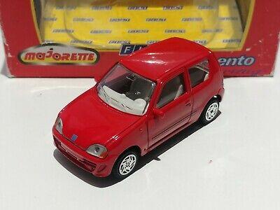 ULTRA RARE 1/43 FIAT SEICENTO 600 SPORTING RED by MAJORETTE DIECAST SCALE MODEL na sprzedaż  Wysyłka do Poland