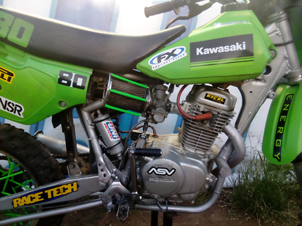 Kawasaki kx 80 E FOUR STROKE