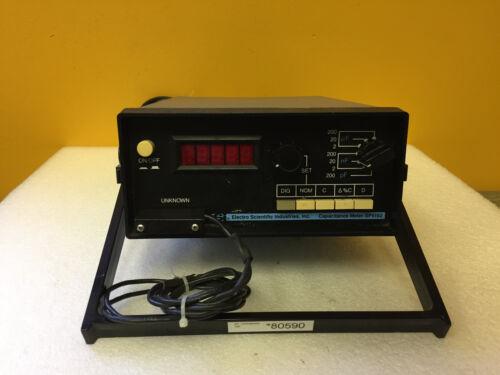 ESI SP5192 0.01 pF tot 200.00 uF, 7 Full Scale Ranges, Digital Capacitance Meter