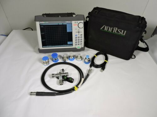 Anritsu S331E SiteMaster Cable & Antenna Analyzer, 2MHz - 4GHz, 1 Year Warranty