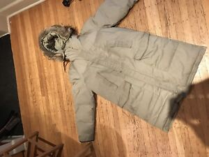 Woods down parka (not Canada Goose)