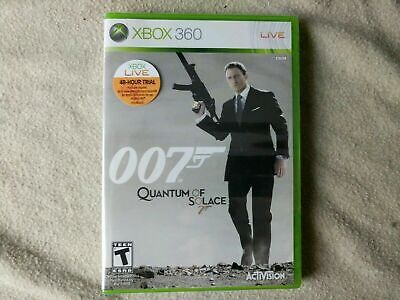 XBOX 360 007 Quantum Of Solace James Bond Brand New, Sealed Game, T-Rated